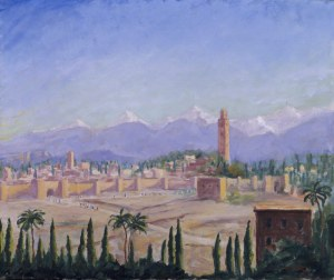 Marrakesh .c1935 by Sir Winston Churchill