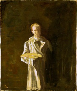 Self Potrait by Sir Winston Churchill c. 1920