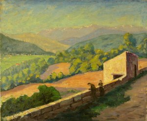 Valley in the South of France c.1935 by Winston Churchill
